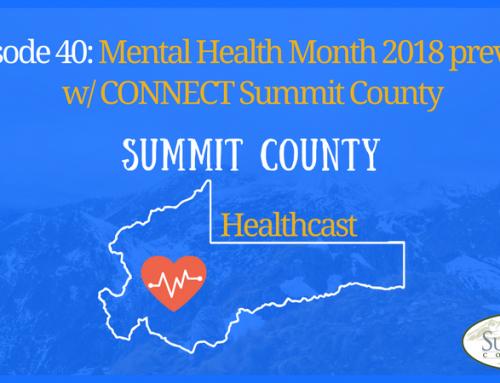 SCHC040: Summit County Mental Health Month 2018