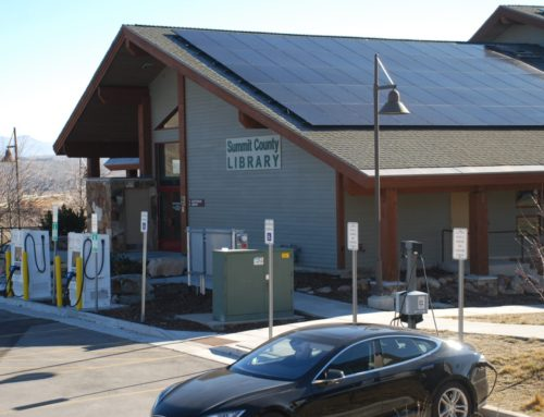 Summit County Sheldon Richins Building Installs Solar Panels