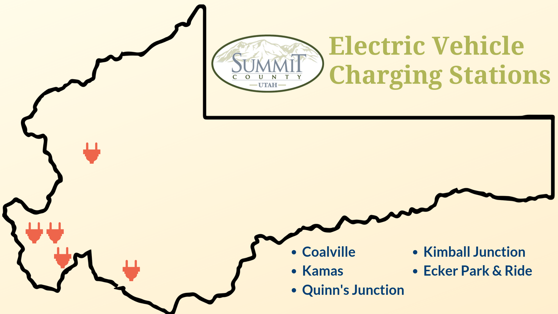 "Summit County, Rocky Mountain Power unveil new ""Smart"" Electric Vehicle Charging Station Network"