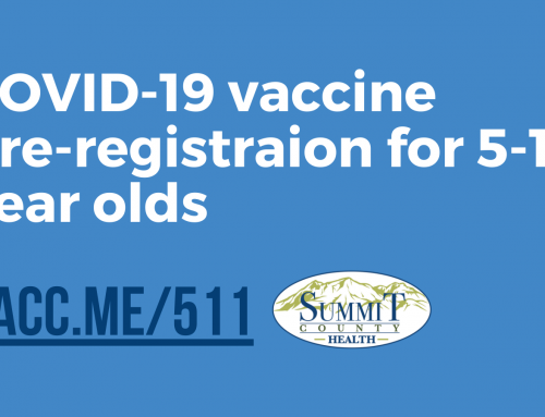 Vaccine pre-registration for 5-11 year-olds is open